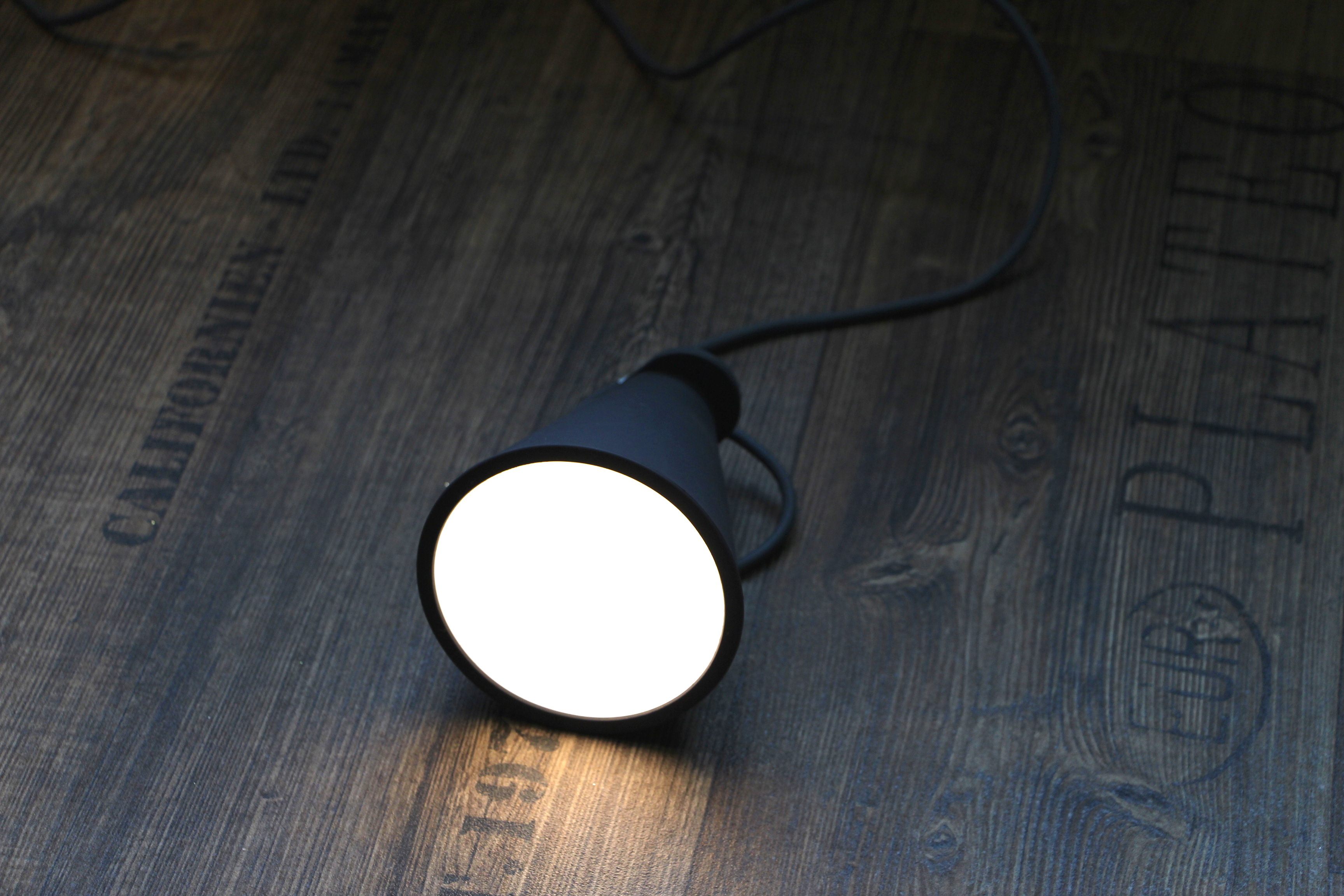 Mobile Lamp Silicon Black